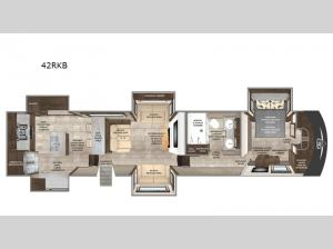 Beacon 42RKB Floorplan Image