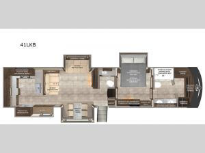 Beacon 41LKB Floorplan Image
