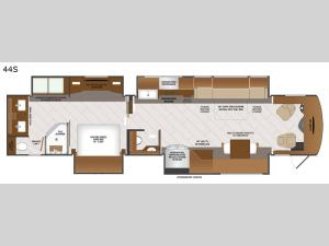 Discovery LXE 44S Floorplan Image