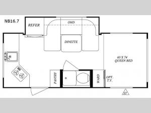 No Boundaries NB16.7 Floorplan Image