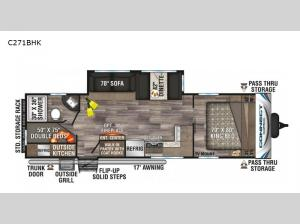 Connect C271BHK Floorplan Image
