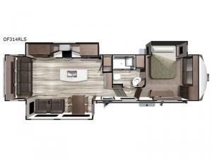 Open Range OF314RLS Floorplan Image