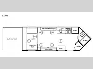 Cherokee Grey Wolf 17TH Floorplan Image