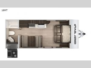 Cherokee Grey Wolf 18MT Floorplan Image