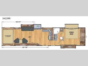 Attitude Widebody 3422RR Floorplan Image
