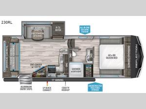 Reflection 150 Series 230RL Floorplan Image