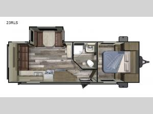 Autumn Ridge Outfitter 23RLS Floorplan Image