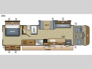 Precept 35S Floorplan Image