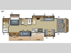Precept 36T Floorplan Image