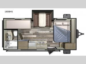 Autumn Ridge Outfitter 180BHS Floorplan Image