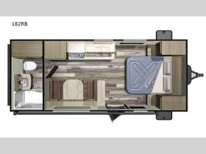 Autumn Ridge Outfitter 182RB Floorplan Image