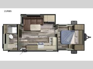 Autumn Ridge Outfitter 21RBS Floorplan Image