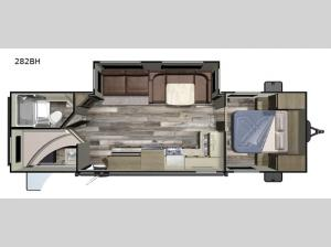 Autumn Ridge Outfitter 282BH Floorplan Image