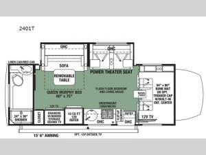 Forester MBS 2401T Floorplan Image