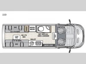 Beyond 22D AWD Floorplan Image