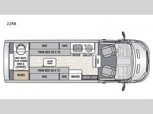 Beyond 22RB AWD Floorplan Image