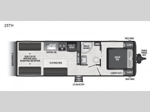 Hideout 25TH Floorplan Image