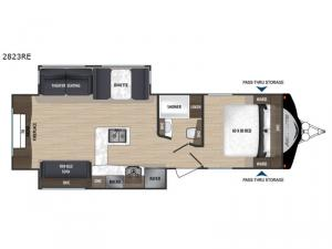 Aerolite 2823RE Floorplan Image