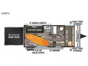 Escape E180TH Floorplan Image