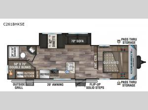 Connect SE C261BHKSE Floorplan Image