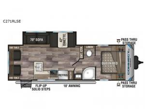 Connect SE C271RLSE Floorplan Image