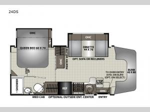 Prism Select 24DS Floorplan Image