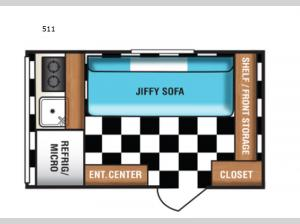 Retro 511 Floorplan Image