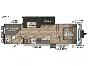 Connect C281BH Floorplan Image