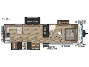 Connect C313RK Floorplan Image