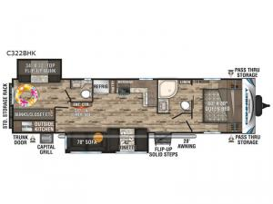 Connect C322BHK Floorplan Image
