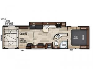 Adrenaline 29KS Floorplan Image