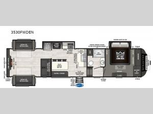 Sprinter 3530FWDEN Floorplan Image