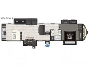 Sprinter 3550FWMLS Floorplan Image