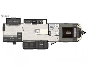 Sprinter 325BMK Floorplan Image