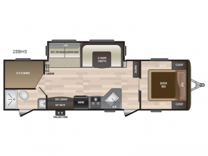 Hideout Travel Trailer Rv Sales 22 Floorplans