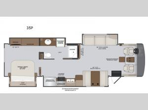 Vacationer 35P Floorplan Image