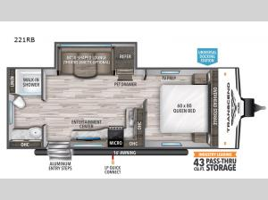 Transcend Xplor 221RB Floorplan Image