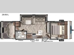 Salem Cruise Lite 28VBXL Floorplan Image