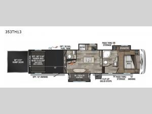 Sportster 353TH13 Floorplan Image