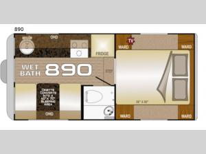 Wolf Creek 890 Floorplan Image