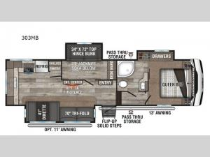 Sportsmen 303MB Floorplan Image