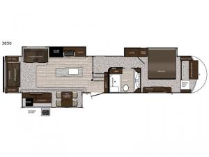 Sanibel 3850 Floorplan Image