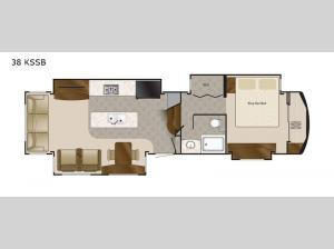 Elite Suites 38 KSSB Floorplan Image