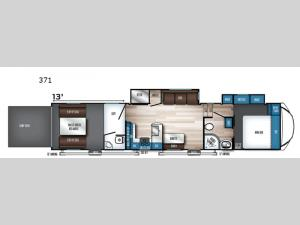 Vengeance Rogue Armored 371 Floorplan Image