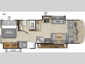 Esteem 31L Floorplan Image