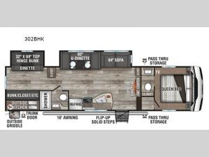 Sportsmen 302BHK Floorplan Image