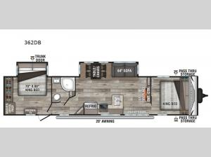 Sportsmen 362DB Floorplan Image