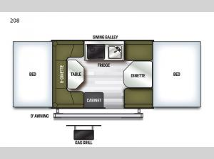 Flagstaff MAC Series 208 Floorplan Image