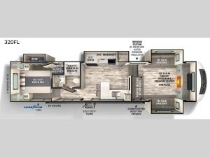 Impression 320FL Floorplan Image