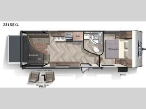 Salem Cruise Lite 251SSXL Floorplan Image